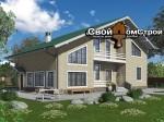 Проект каркасного дома КС-93