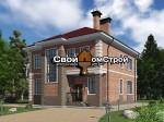 Проект каменного дома КД-73