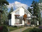 Проект каркасного дома КС-22