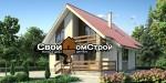 Проект каменного дома КД-55
