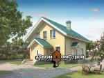 Проект каменного дома КД-25