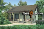 Проект каменного дома КД-14