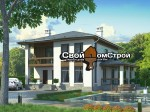 Проект каменного дома КД-56