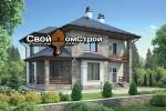Проект каркасного дома КС-84