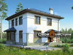 Проект каркасного дома КС-62