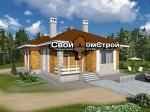 Проект каменного дома КД-51