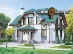 Проект каркасного дома КС-69