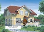 Проект каркасного дома КС-75